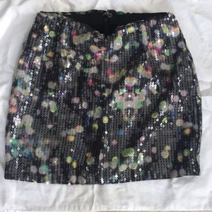 Divided by H&M sequin mini skirt
